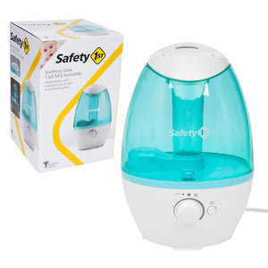 Safety- Soothing Glow Cool Mist Humidifier