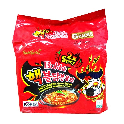 Samyang Ramen Pouch Different Flavors 4.94oz