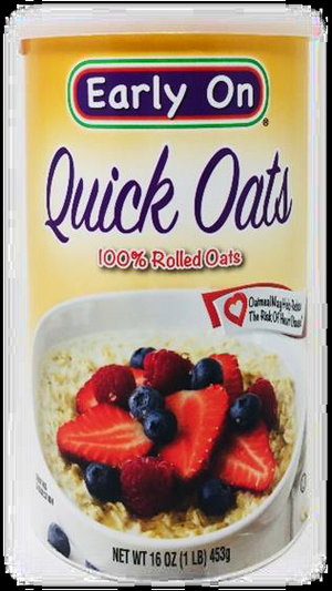 Early Quick Oats 100% Rolled Oats
