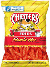Chesters Fries Flamin Hot Chips 1.75oz