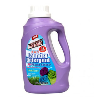 Awesome Detergent and Fabric Softener 64oz