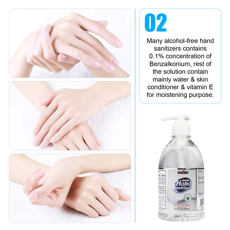 Panrosa 16.9oz Hand Sanitizer with Pump