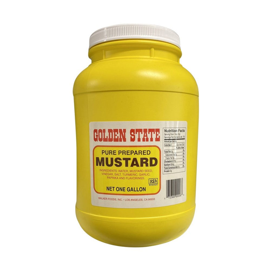 Golden State Mustard 128oz
