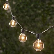 String Lights - 15ft with 15 Light Clear Bulbs