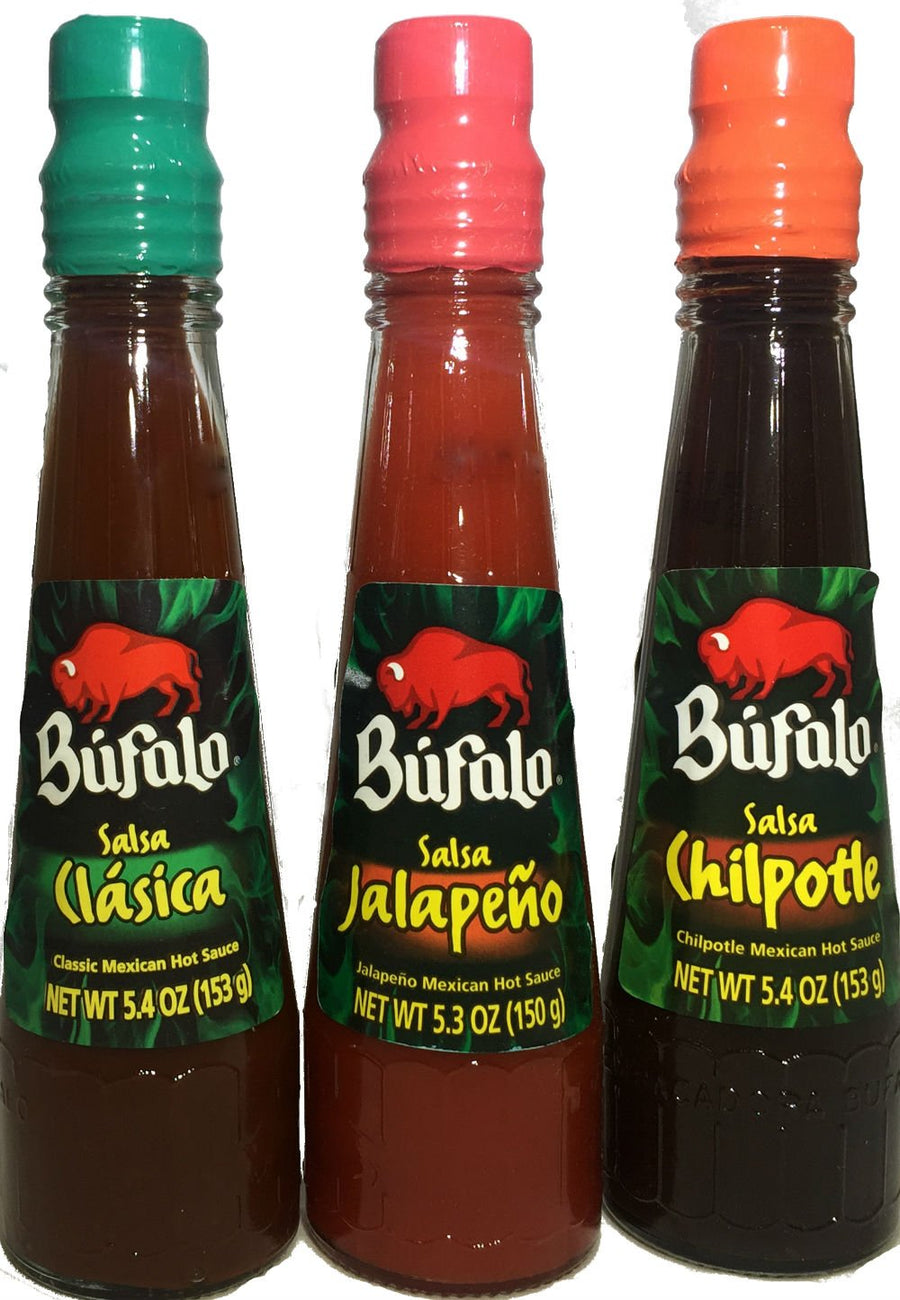 Bufalo Salsa Variety of Flavors