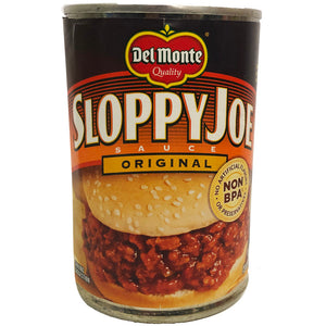 Del Monte Sloppy Joe Original 15 oz