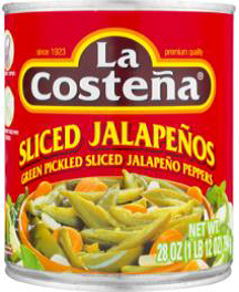 Sliced Jalapeño