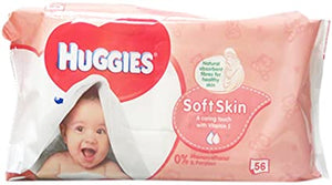 Huggies Baby Wipes 56 pieces