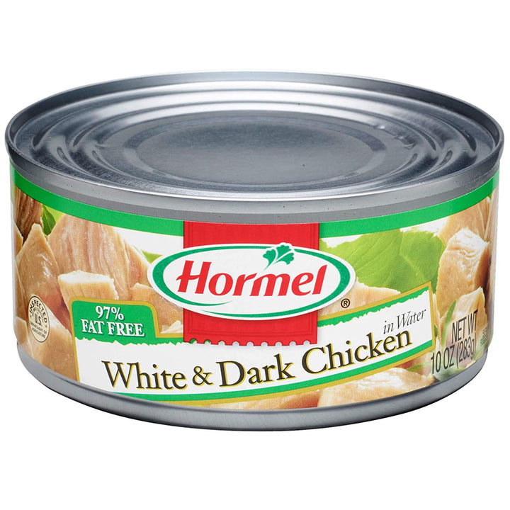 White & Dark Chicken In Water