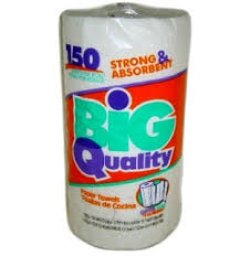 Big Quality Paper Towel 150 Ct 2 Ply