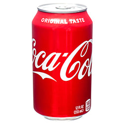 COCA COLA 12 OZ CAN