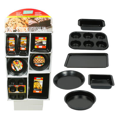 COOKING BASICS NON-STICK BAKEWARE IN 6 ASSORTMENTS
