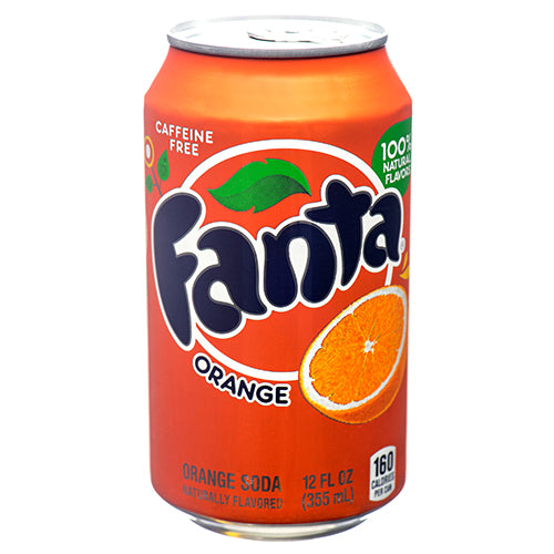 FANTA 12 OZ CAN ORANGE