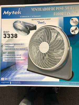 "Elite 20"" Floor Fan - Truckload - 1,800 units"