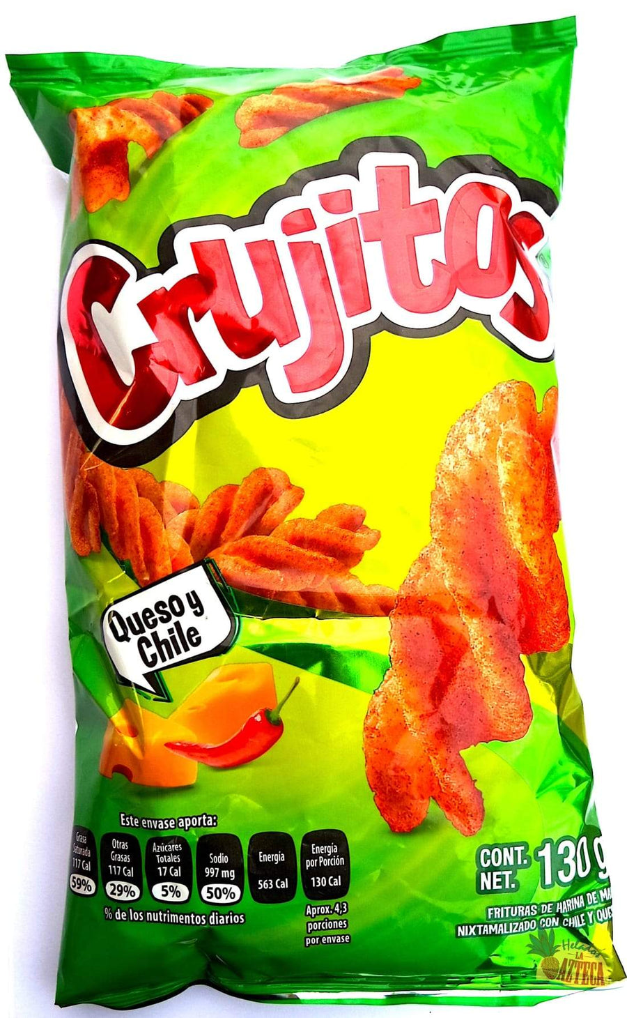 Sabritas Crujitos Chips 120g