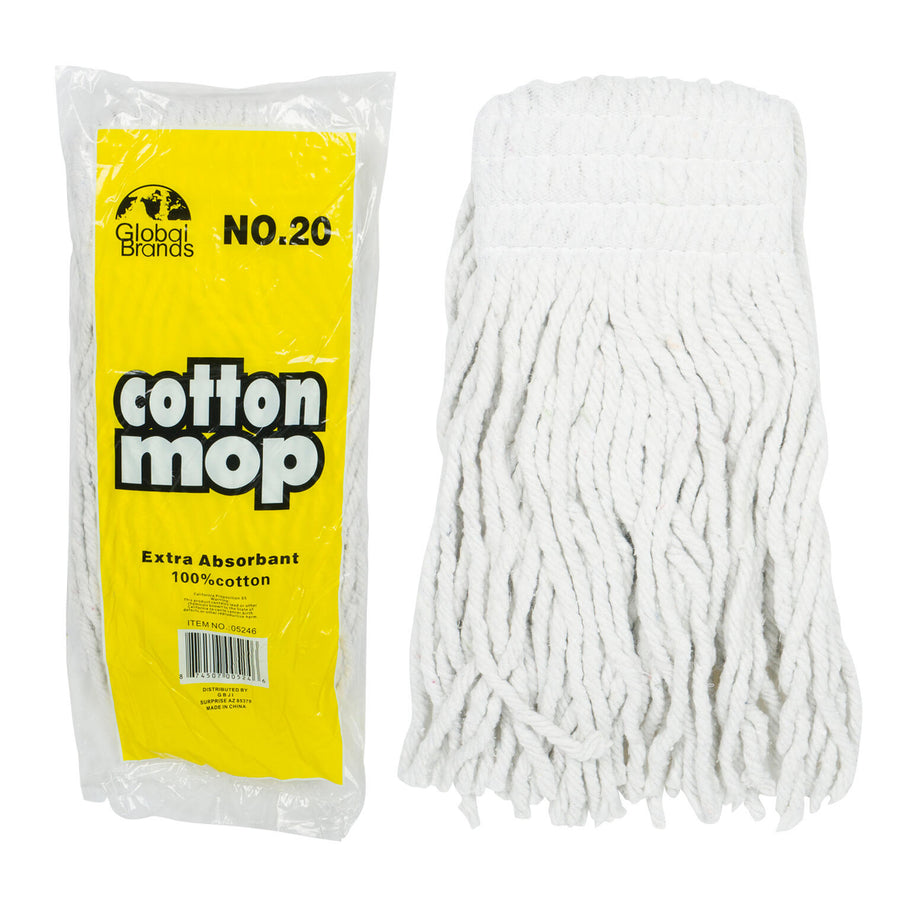 MOP HEAD,#20 COTTON REPLACEMENT
