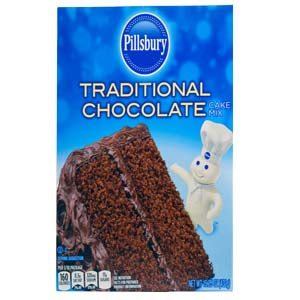 Pillsbury Cake Mix Chocolate, 15.25 oz