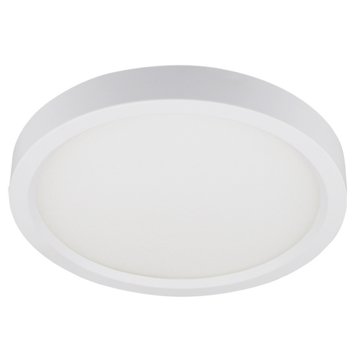 "LED Edge-lit Flush Mount, 8"", 15W LED Module, 120V, 3000K - LEDGeeks"