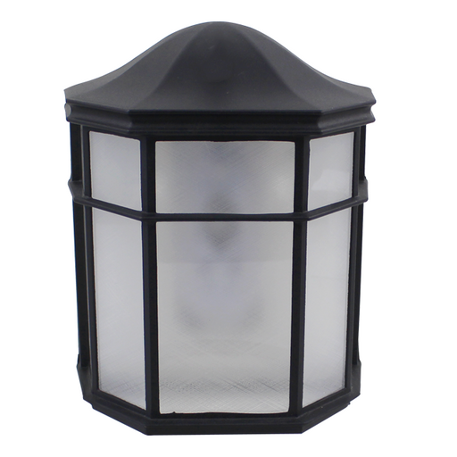 Decorative Outdoor Pocket Lantern, 9W LED Module, 120V, 3000K, White - LEDGeeks
