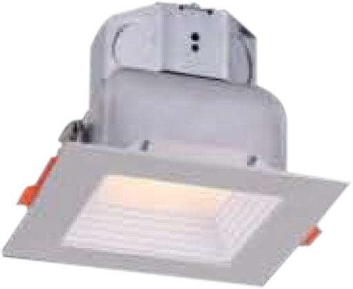 Square Veloce LED Baffle Recess Downlight - LEDGeeks