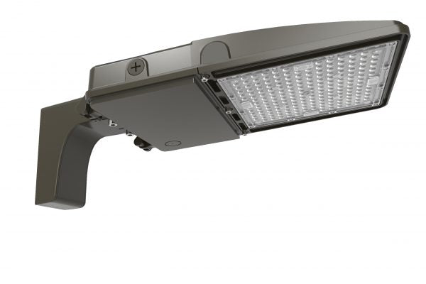 "LED Shoebox Area Light, Slip Fitter, 20.6"", 200W LED Module, 120-277V, 5000K - LEDGeeks"