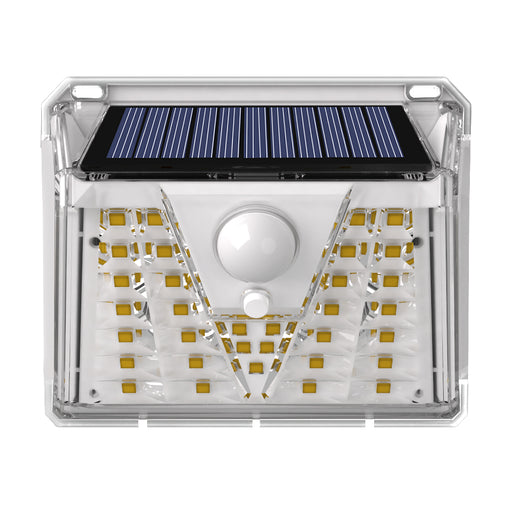 Lens Integrated Solar Wall Light