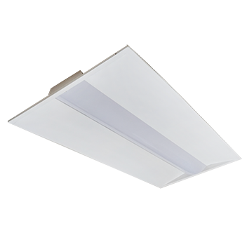 Recessed LED Center Basket Troffer, 2X4, 40W LED Module, 120-277V, 5000K - LEDGeeks