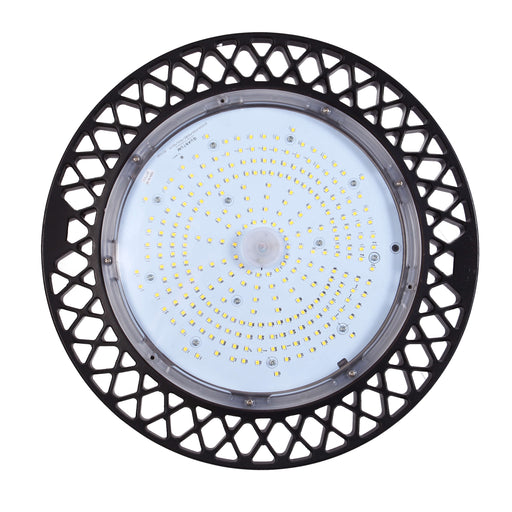 "UFO LED High Bay, 16.5"", 200W LED Module, 120-277V, 5000K - LEDGeeks"
