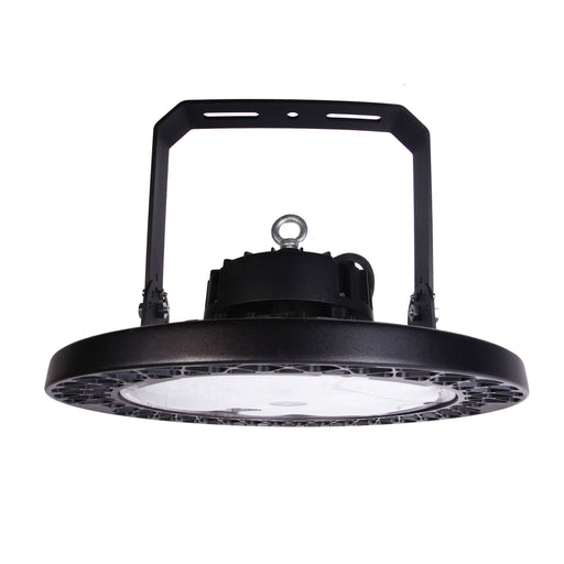 "UFO LED High Bay, 13.8"", 150W LED Module, 120-277V, 5000K - LEDGeeks"