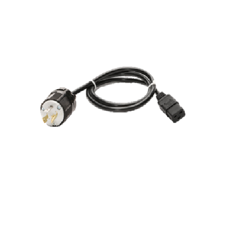 6' Cord 18/3 Nema L515P(Twist Locking) 120V Black - LEDGeeks