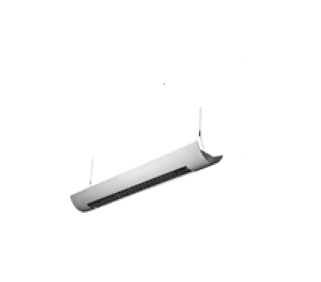 LEDGEEKS 3-Foot LED Architectural Linear  Suspended Louver - LEDGeeks