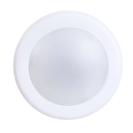"Recessed/Surface Mount LED Disk Light, 6"", 15W LED Module, 120V, 4000K, White"