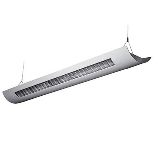 LEDGEEKS 12-Foot LED Architectural Linear  Suspended Louver - LEDGeeks