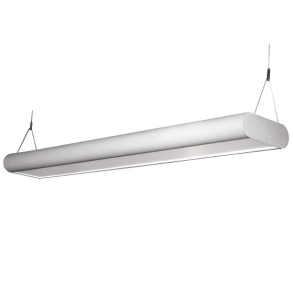 LEDGEEKS CURVA-R3 LED Architectural Direct/Indirect suspended Light, 3 Foot - LEDGeeks
