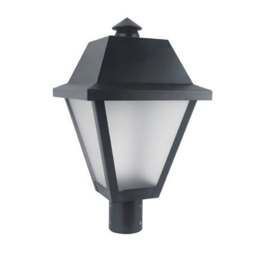 LEDGEEKS LPT-9 Frosted LED Post Top Light, 25W or 35W - LEDGeeks