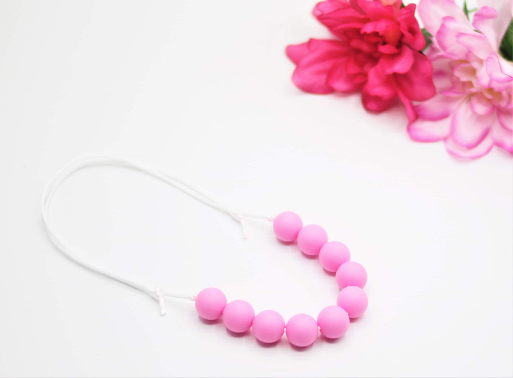 Pink Solid Teether