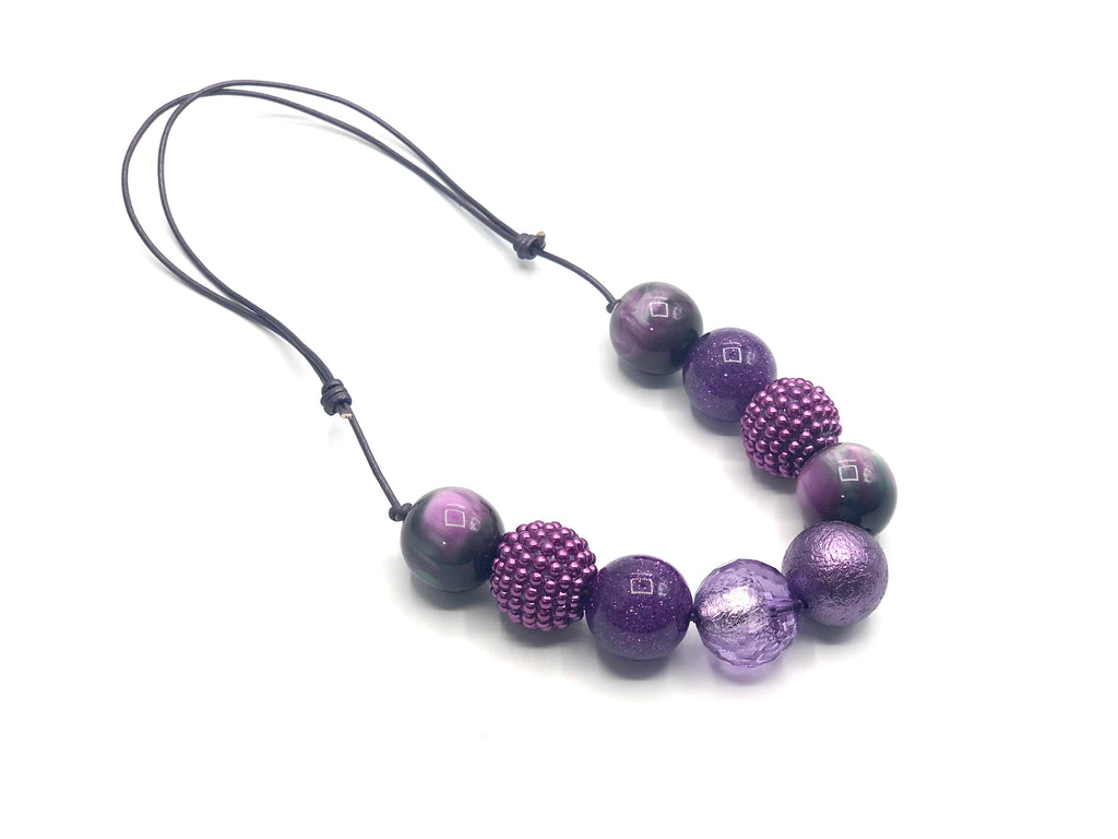 Plum Perfect Necklace