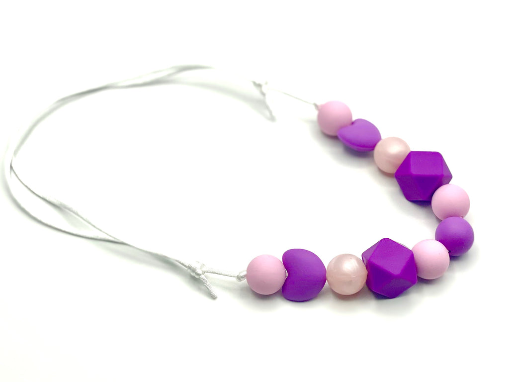 Purple Heart Teether Necklace