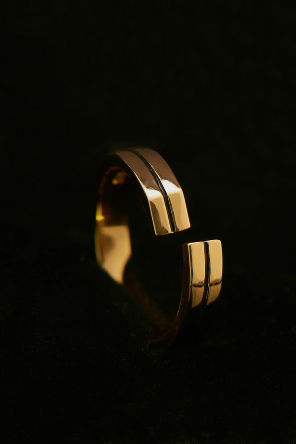 Precision Gold 585 Ring (Gr.50)