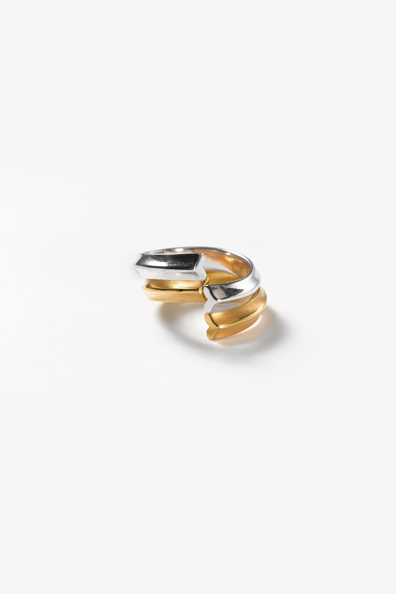 Gold 585 Ring, Matt