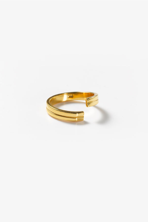 Precision Ring Gold 585 (Gr.49), Glanz