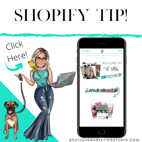 Shopify Tip to increase your Sales!