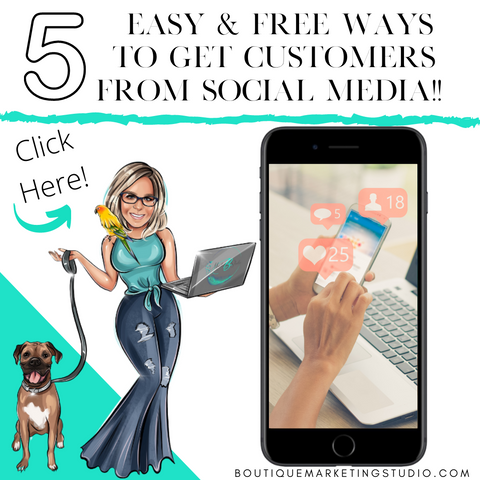 5 easy & FREE ways to get Customers from Social Media!
