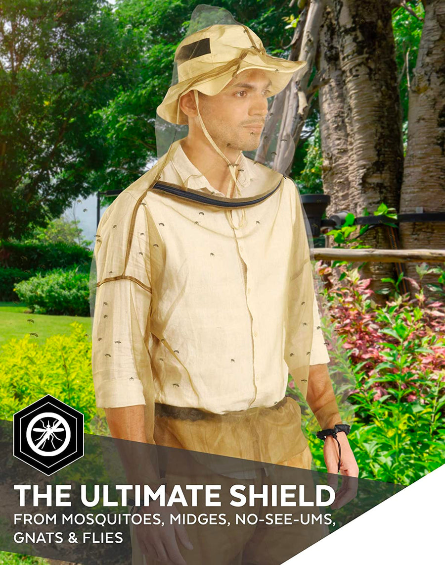 BugJacket™ - Ultimate Protection Against Mosquitoes & Bugs