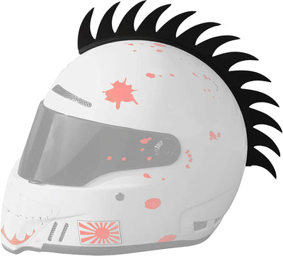 MotoHawk™ - The Motorcycle Helmet Mohawk Spikes