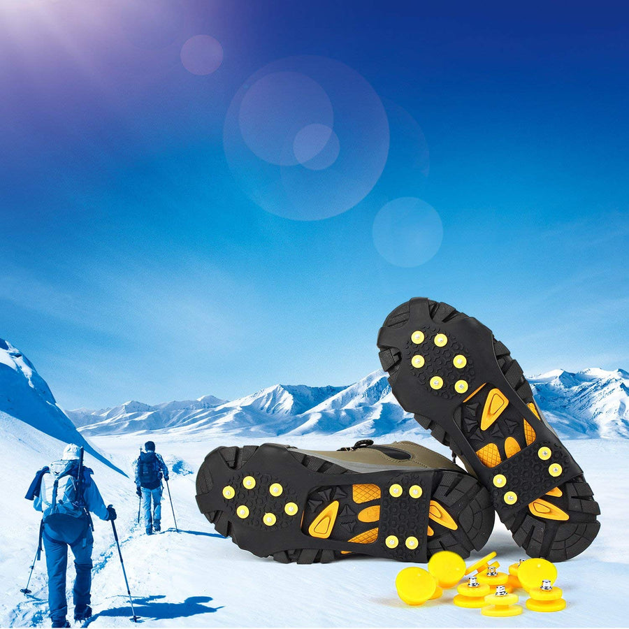 Anti-Slip Traction Cleats For Ice and Snow