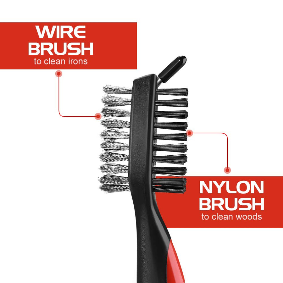 Champion™ - Premium 3-in-1 Golf Cleaning Brush
