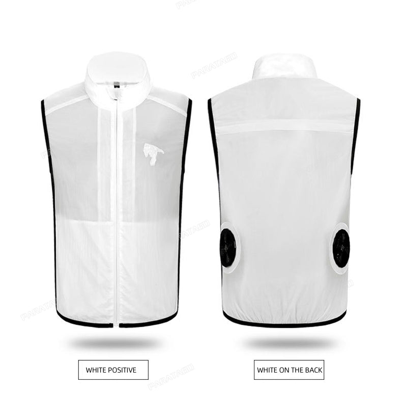 CoolVest™ - The Premium Rechargeable Cooling Vest
