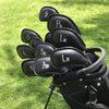 Premium Heavy-Duty Golf Iron Head Covers (Set of 12)