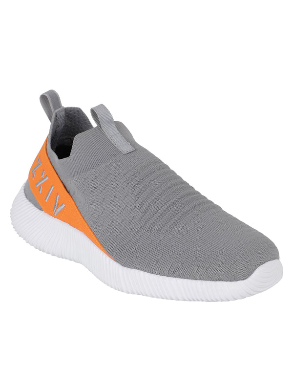 CORAL DUSK - KazarMax XXIV Men's Grey Lifestyle Socks Sneakers / Slipons Shoes